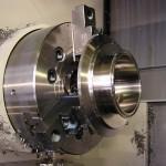 Volautomatische draaibank met aangedreven gereedschappen met stafaanvoer
