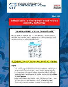 Nieuwe catalogus basismaterialen MGE 14.0